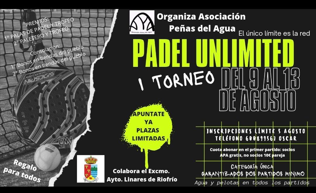 I Torneo Padel Unlimited
